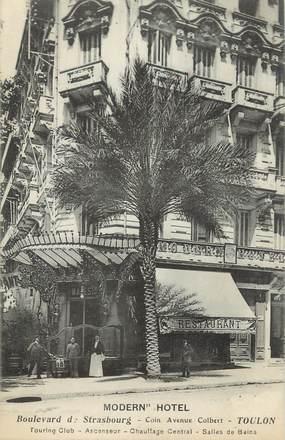 """CPA FRANCE 83 """" Toulon, Modern Hôtel"""""""