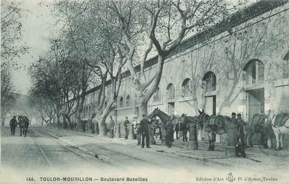 "CPA FRANCE 83 "" Toulon - Mourillon, Boulevard Bazelles'"