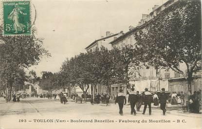 "CPA FRANCE 83 "" Toulon - Mourillon, Le Boulevard Bazeilles'"