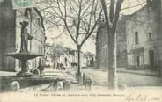 """30 Gard CPA FRANCE 30 """" Uzès, Place du Marché"""""""