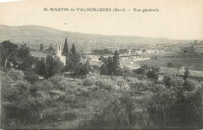 """CPA FRANCE 30 """" St Martin de Valgualgues, Vue générale"""""""