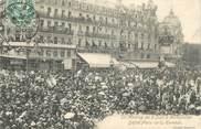 """34 Herault CPA FRANCE 34 """" Montpellier, Le meeting du 09 juin, défilé Place de la Comédie"""""""