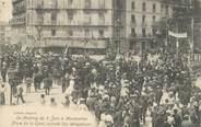 """34 Herault CPA FRANCE 34 """" Montpellier, Le meeting du 09 juin, arrivée des délégations Place de la Gare"""""""