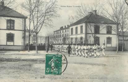 """CPA FRANCE 81 """" Albi, Compagnie du 15ème d'infanterie rentrant à la Caserne Lapérouse"""""""