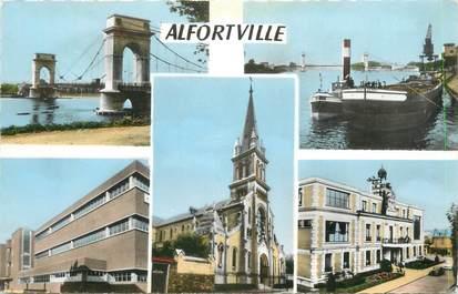 """CPSM FRANCE 94 """" Alfortville, Vues"""""""