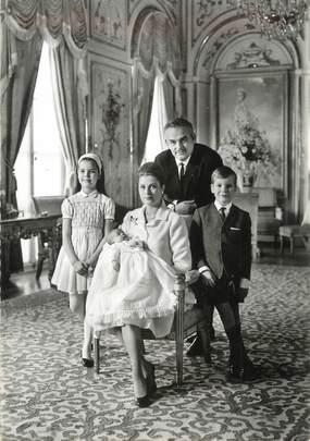 """CPSM MONACO """" La famille de Monaco"""""""
