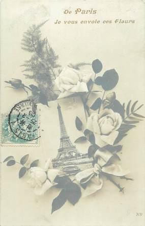 """CPA FRANCE 75 """"Paris, La Tour Eiffel"""""""