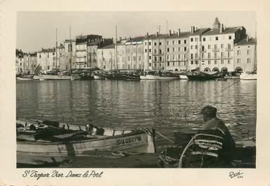 """CPSM FRANCE 83 """"St Tropez, Le port """""""