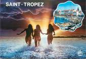 "83 Var CPSM FRANCE 83 ""St Tropez, Vues"" / NU"