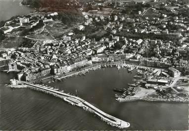"""CPSM FRANCE 83 """"St Tropez, Vue aérienne sur le port et sur la ville"""""""