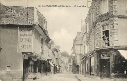 "CPA FRANCE 44 ""Chateaubriant, Grande Rue"""