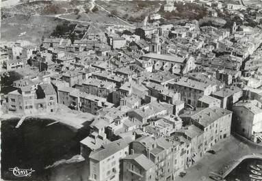 """CPSM FRANCE 83 """"St Tropez, Vue aérienne sur le Quartier de la Glaye"""""""