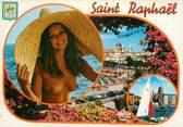 """83 Var CPSM FRANCE 83 """"St Raphaël, Vues """" /NU"""