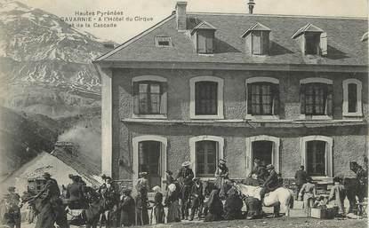 """/ CPA FRANCE 65 """"Gavarnie, l'hôtel du cirque et de la cascade"""""""