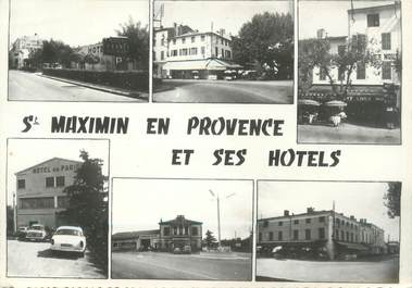 "CPSM FRANCE 83 "" St Maximin, Les hôtels"""