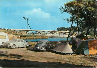 """CPSM FRANCE 83 """" St Aygulf, Le camping"""""""