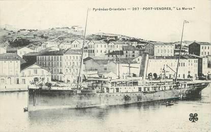 """/ CPA FRANCE 66 """"Port Vendres, la Marsa"""""""