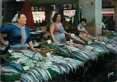 """CPSM FRANCE 83 """" Toulon, Le marché aux poissons"""""""