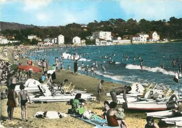 """CPSM FRANCE 83 """" Toulon, Les Sablettes, St Elme et la plage"""""""
