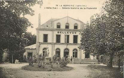 """CPA FRANCE 44 """"La Bernerie, colonie scolaire de la Fraternité"""""""