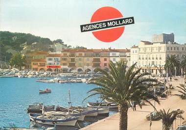 "CPSM FRANCE 83 "" Sanary sur Mer, Agence Mollard, Les arcades du port"""