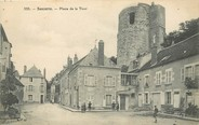 "18 Cher / CPA FRANCE 18 ""Sancerre, place de la tour"""