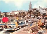 """83 Var CPSM FRANCE 83 """" Sanary sur Mer, Les pêcheurs à quai"""""""