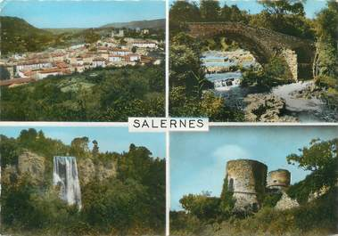 "CPSM FRANCE 83 "" Salernes, Vues"""