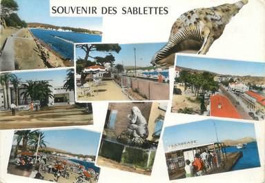 """CPSM FRANCE 83 """" Les Sablettes, Vues"""""""