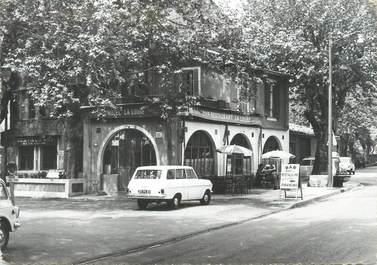 """CPSM FRANCE 83 """" La Roquebrussanne, Place de l'Eglise"""""""