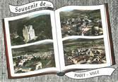 """83 Var CPSM FRANCE 83 """" Puget Ville, Vues"""""""