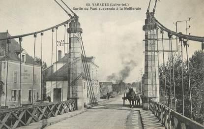 """CPA FRANCE 44 """"Varades, Sortie du pont suspendu à la Meilleraie"""""""