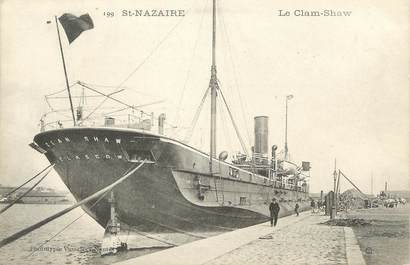 """CPA FRANCE 44 """" St Nazaire, Le Clam Shaw"""""""