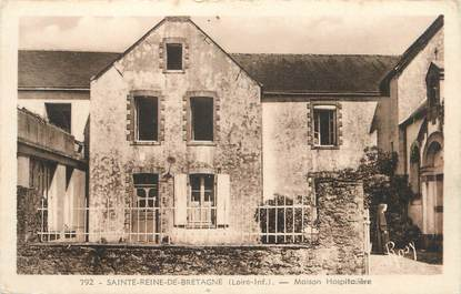 "CPA FRANCE 44 "" Ste Reine de Bretagne, Maison hospitalière"""