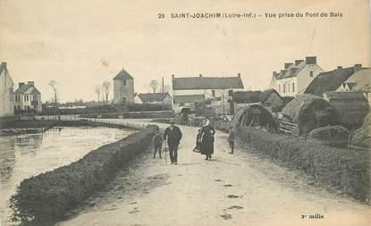 """CPA FRANCE 44 """" St Joachim, Vue prise du Pont de Bais"""""""