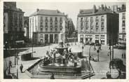 """44 Loire Atlantique CPSM FRANCE 44 """" Nantes, La Place Royale et la Rue Crébillon"""""""