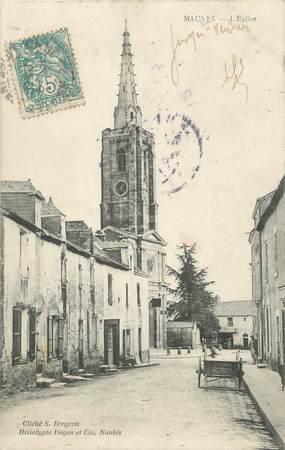 """CPA FRANCE 44 """" Mauves, L'église"""""""