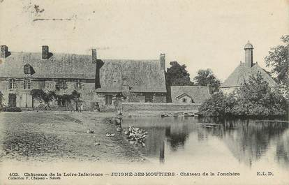 """CPA FRANCE 44 """" Juigné des Moutiers, Château de la Jonchère"""""""