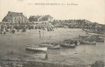 """CPA FRANCE 44 """"Le Bourg de Bas, La plage"""""""