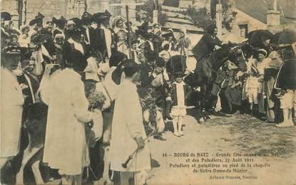 """CPA FRANCE 44 """"Le Bourg de Bas, Grande fête annuelle du sel et des paludiers 27 août 1911"""""""