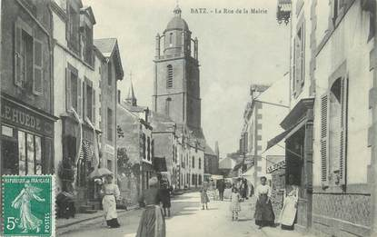 """CPA FRANCE 44 """"Batz, La Rue de la Mairie"""""""