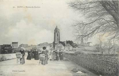 """CPA FRANCE 44 """"Batz, La Route du Croizic"""""""
