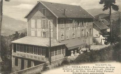 """CPA FRANCE 06 """" Peira Cava, Grand Hôtel Faraut"""""""
