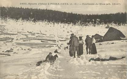"CPA FRANCE 06 "" Peira Cava, Les sports d'hiver"""