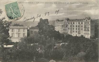 """CPA FRANCE 06 """" Nice, Le Grand Hôtel de Cimiez et le Pavillon Victoria"""""""