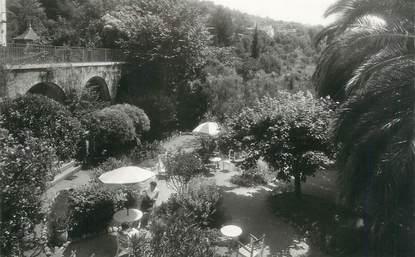 """CPSM FRANCE 06 """" Magagnosc, Le jardin du Relais du Vieux Moulin"""""""