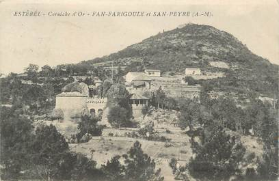 """CPA FRANCE 06 """" Fan Farigoule et San Peyre'"""