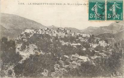 """CPA FRANCE 06 """"La Roquette sur Var"""""""