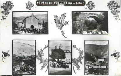 """CPSM FRANCE 06 """"Cipières , Vues"""""""