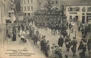 """90 Territoire De Belfort / CPA FRANCE 90 """"Giromagny, octobre 1913, le 1er bataillon du 42ème régiment d'infanterie"""" / MILITAIRE"""